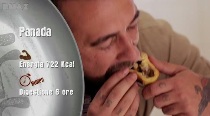 Chef Rubio mangia la Panada