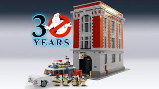 La Caserma dei Ghostbusters in versine LEGO