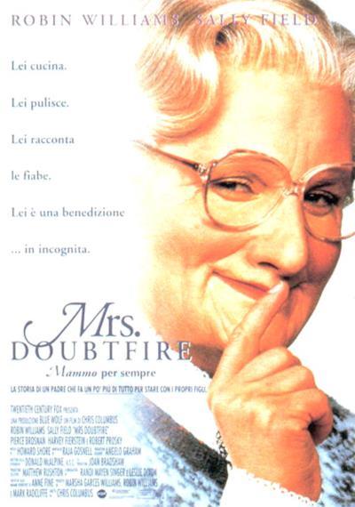 La locandina di Mrs.Doubtfire