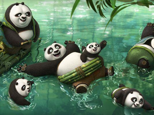 Kung Fu Panda 3 promette un'invasione di Panda