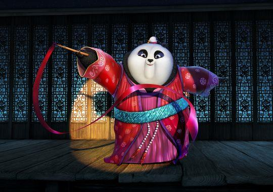 Mei Mei, la panda femmina di Kung Fu Panda 3