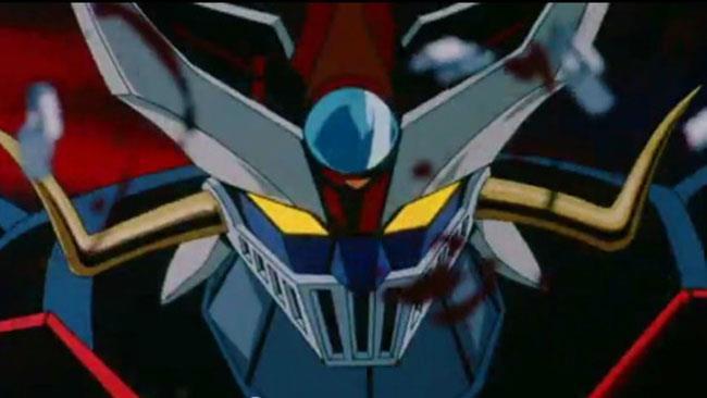 Mazinger Z è pronto a combattere in un'immagine dall'anime