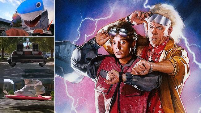 Oggetti futuristici di Ritorno al Futuro in alcune scene del film