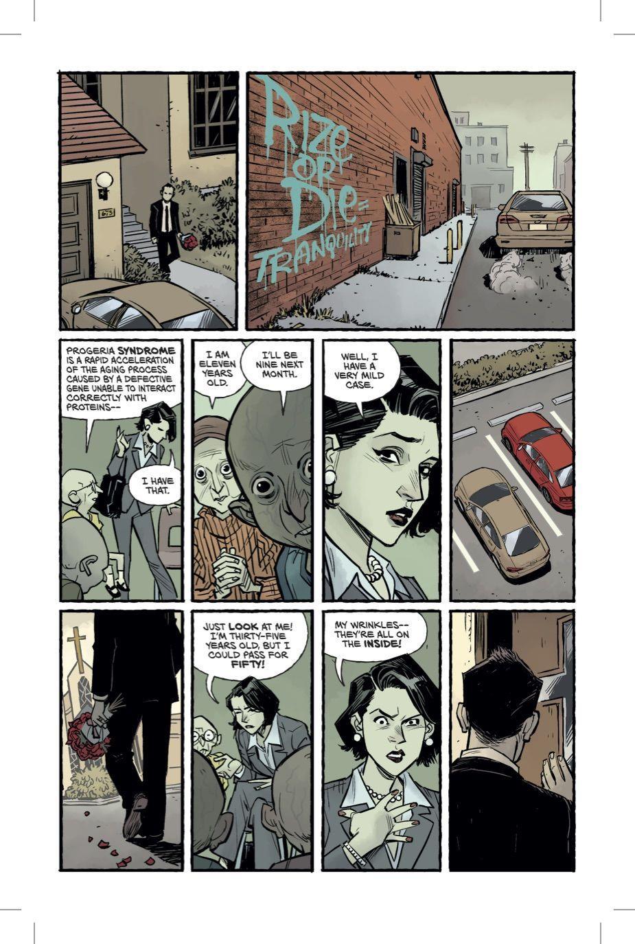 quinta pagina del fumetto Fight Club 2