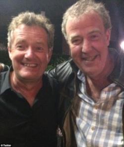 Piers Morgan e Jeremy Clarkson si sono riappacificati dopo 10 anni