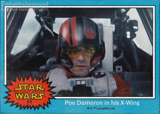 Il pilota Poe Dameron in Star Wars 7