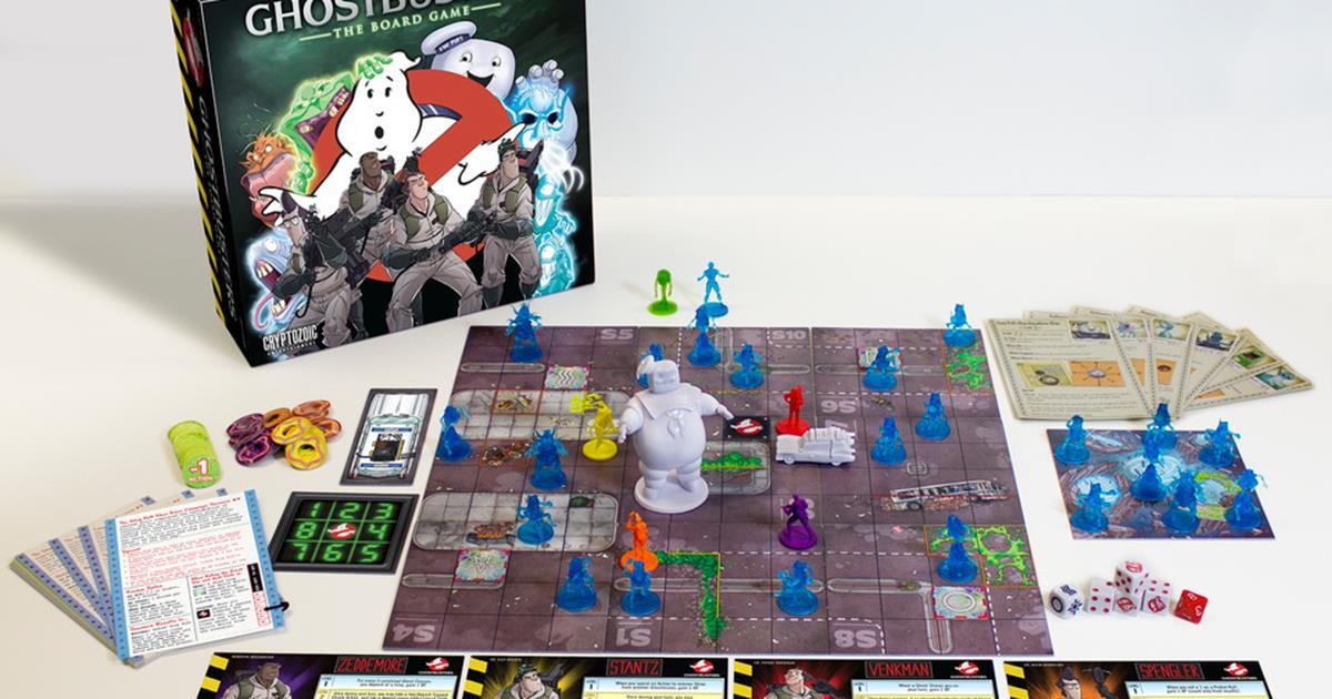 Il favoloso gioco da tavolo dei ghostbusters arriva questo - Voodoo gioco da tavolo ...