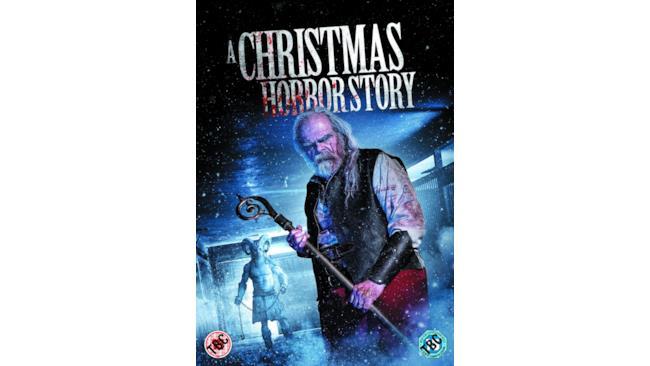 La locandina di A Christmas Horror Story con Babbo Natale