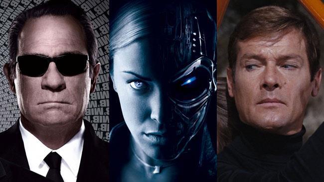 25 ottobre 2015: MIB 3, Terminator 3 e 007 stasera in TV