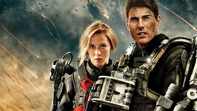 Tom Cruisde e Emily Blunt in Edge of Tomorrow 2