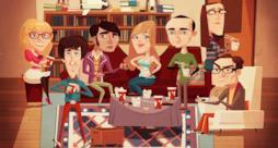 Locandina della mostra dedicata a The Big Bang Theory