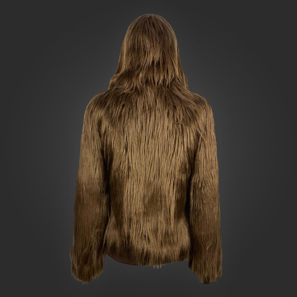 Retro della felpa di Chewbacca