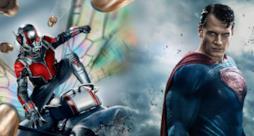 Ant-Man e Superman si scontrano in un'immagine fan made