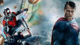 Ant-Man e Superman si scontrano in un'immagine fan made