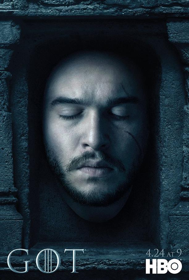 Game of Thrones 6: il poster di Jon Snow