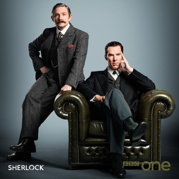 BBC One ha rilasciato questo poster per lo speciale natalizio di Sherlock