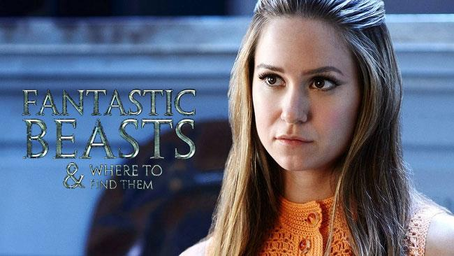 Katherine Waterston sarà parte del cast dello spin-off di Harry Potter