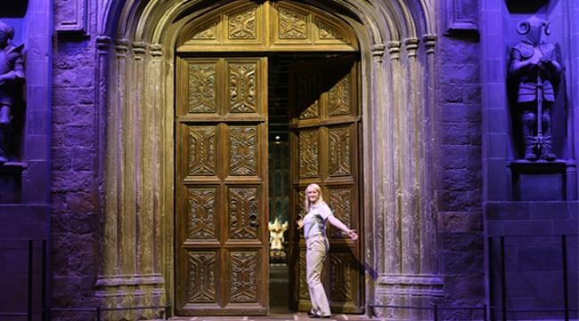 L'entrata di Hogwarts