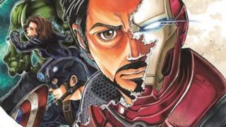La copertina del manga prequel di Avengers: Age of Ultron