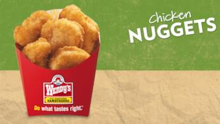 I nuggets di Wendy's