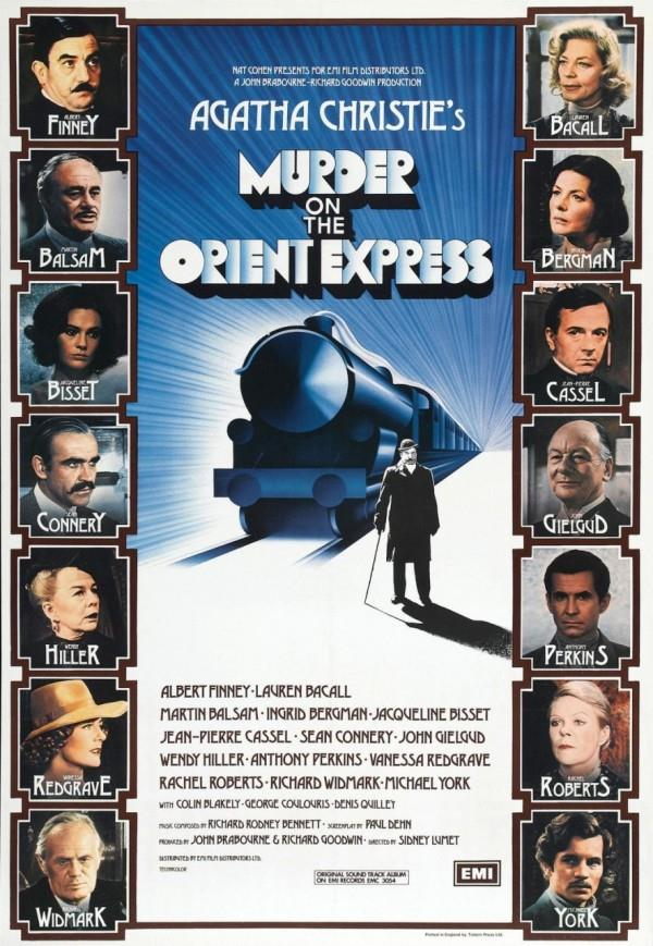 Poster del film Assassinio sull'Orient Express del 1974