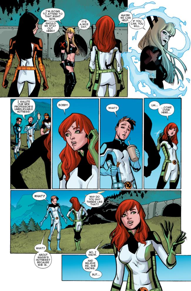 All-New x-Men #40: il coming out di Bobby, pagina 1