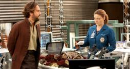 Brennan e Crane nel crossover tra Bones e Sleepy Hollow
