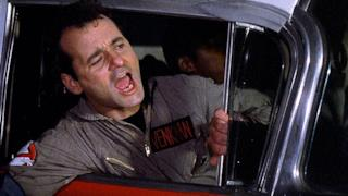 Bill Murray come Peter Venkman in Ghostbusters