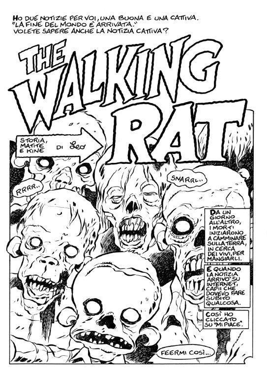 Pagina di anteprima di The Walking Rat