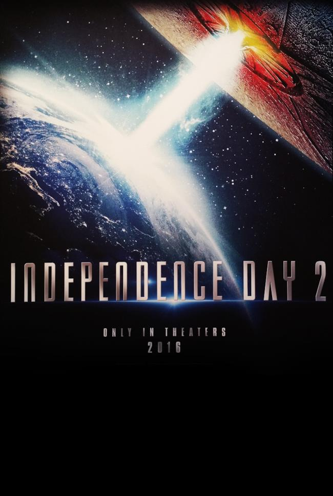 Poster di Independence Day 2; il trailer è in arrivo per Natale