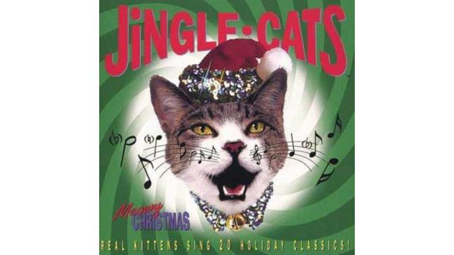 Copertina del disco Jingle-cats
