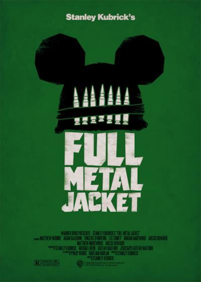 La locandina di Full Metal Jacket