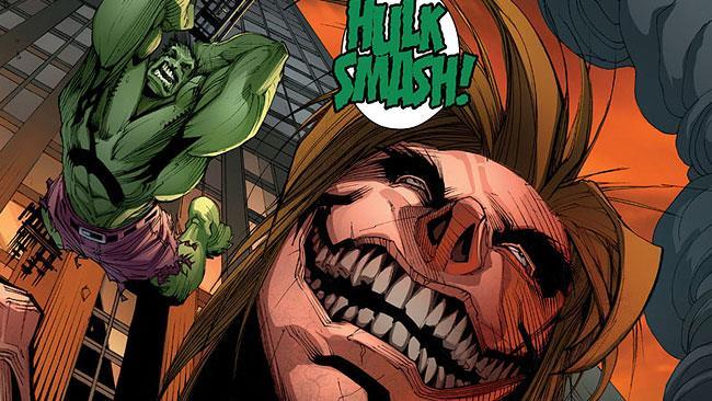 Hulk contro i giganti di Hajime Isayama