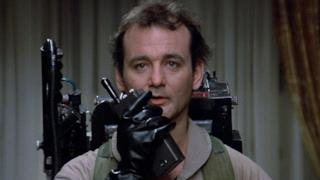 Bill Murray nel primo film sui Ghostbusters