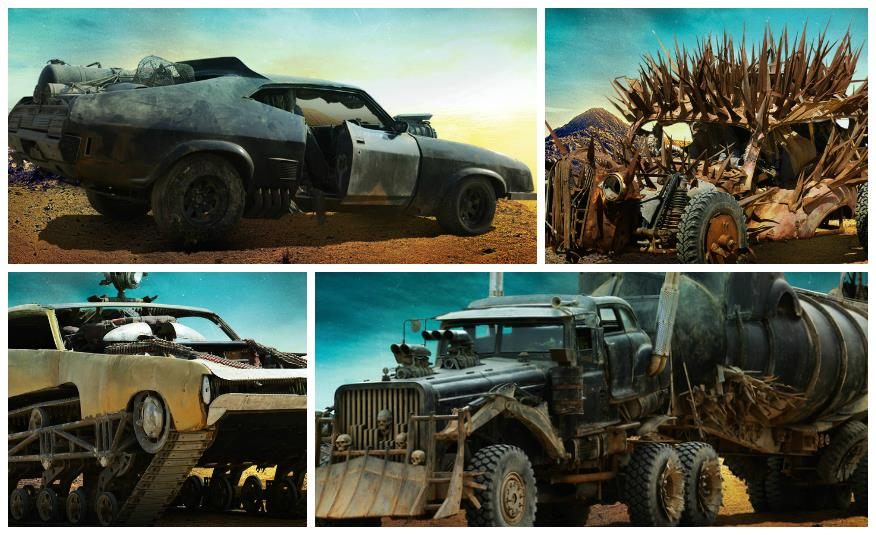 veicoli di Mad Max: Fury Road