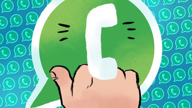 Il dito medio di WhatsApp (via Mashable)