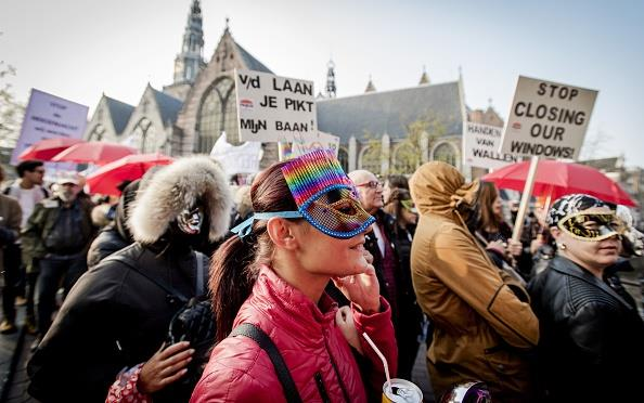 Le prostitute di Amsterdam in rivolta