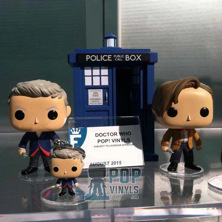 I POP! Vinyl del Dottore e della TARDIS