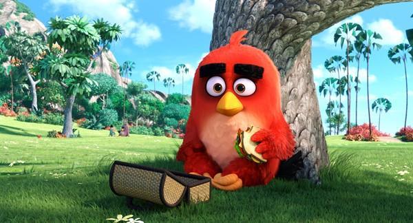 Un'immagine di Red dal trailer del film Angry Birds