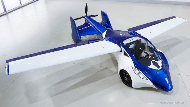 AeroMobil 3.0 vista dall'alto