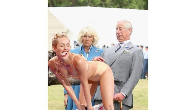 Miley Cyrus e il Principe Carlo