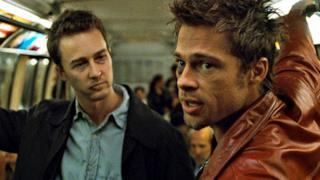 Una scena del film Fight Club