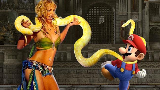 Britney Spears vs Mario: una realtà che potrebbe realizzarsi