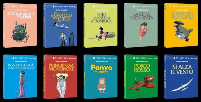 L'opera completa di Hayao Miyazaki arriva in edizione Steelbook è in arrivo a partire da novembre