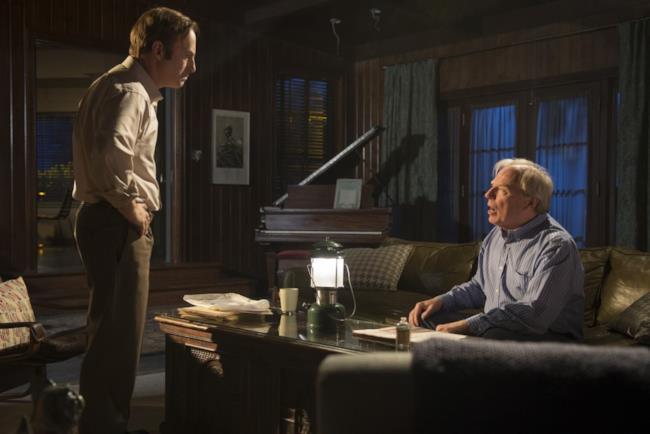 Saul Goodman col l'attore che interpreta il fratello