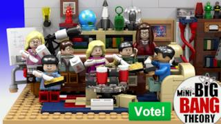 Il set Lego di The Big Bang Theory
