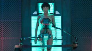 Una scena del film Ghost in the shell