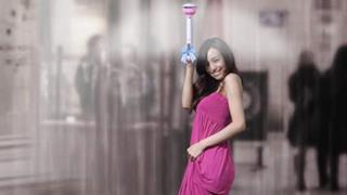 Air Umbrella: l'ombrello che spazza via l'acqua con la forza dell'aria