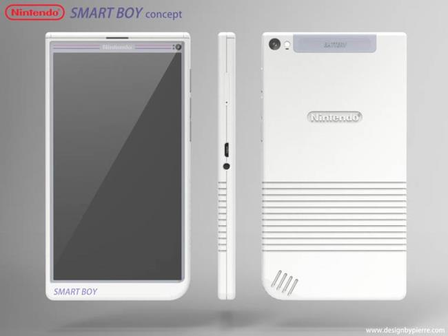 Concept art di Nintendo Smar Boy
