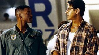Will Smith Jeff Goldblum nel primo Independence Day
